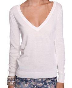 Simple. I like white clothing.