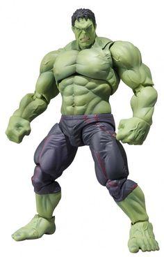 BANDAI TAMASHII S.H.Figuarts The Avengers Age of Ultron Hulk Action Figure JAPAN #Bandai