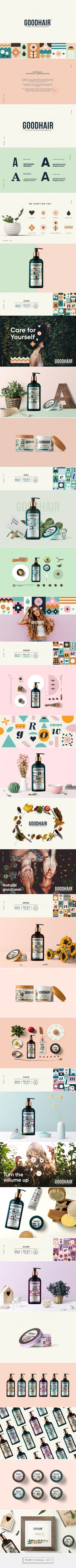 GoodHair - Naturally crafted Hair Products on Behance - created via https://pinthemall.net