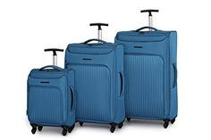 IT Luggage Megalite Vertica 3 Piece Set Blue Sapphire One Size *** Find out more about the great product at the image link.
