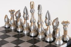 Artistic Chess Sets | But the proposition of making a chess set, held a number of unique ...