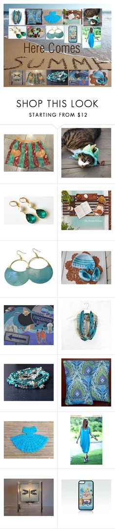 """Here Comes Summer: Gift Ideas for Her"" by paulinemcewen ❤ liked on Polyvore featuring rustic"