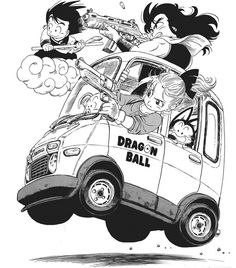 """I will never get tired of Akira Toriyama drawing Bulma in wonderful stubby vehicles"" Manga Artist, Comic Artist, Manga Anime, Anime Art, Manga Dragon, Kid Goku, Japon Illustration, Car Drawings, Dragon Ball Z"