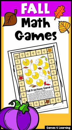 These fun Fall math activities give you lots of choice. There are Fall math games, Fall math puzzle worksheets, Fall math brain teasers and also Fall math BOOM Cards. These are ideal for first, second and third grade and great for differentiation with a wide range of fall math activities. They can be used in the classroom for math centers, for distance learning or for homeschool. There are activities for addition, subtraction, multiplication, fractions, skip counting and more.