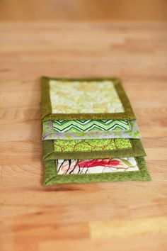 quilted coasters  kitchen garden by btaylorquilts on Etsy, $15.00