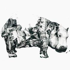 Les illustrations de Simon Prades !