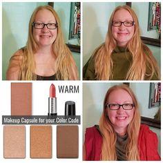 Warm Color Code transformation! Warm Colors, Colours, Color Codes, Golden Blonde, Hazel Eyes, Freckles, Red Hair, Color Pop, Coding