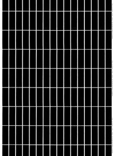 "Marimekko's founder Armi Ratia designed the Tiiliskivi print featured on this heavyweight cotton fabric. The graphic Tiiliskivi print, which translates to ""Brick"" in English, was created in Please order carefully. Fabric Patterns, Print Patterns, Marimekko Fabric, Types Of Curtains, Large Prints, Bold Prints, Black Pattern, Fabric Online, White Fabrics"