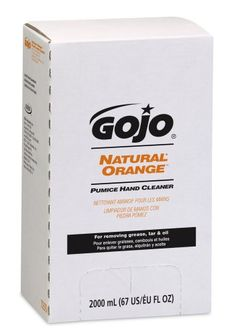 Gojo 7255-04 2000 Ml Natural Orange Pumice Hand Cleaner, Pro Tdx 2000 Refill, (Case Of 4), 2015 Amazon Top Rated Hand Cleaners #BISS