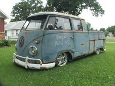 Double cab... Reminds me of our single cab Rusty