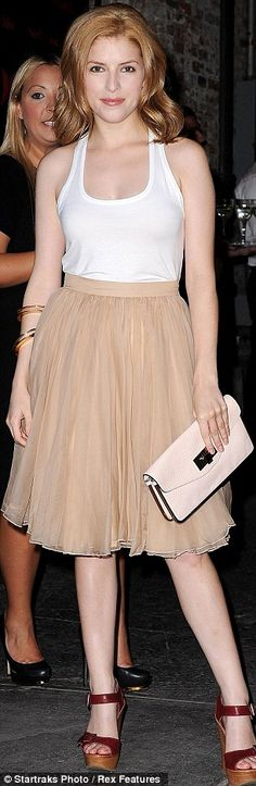 Argh, love this look - any idea where the skirt is from?