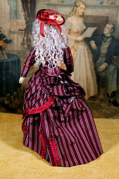 "18"" Early ABG #911 German Lady Fashion Doll"