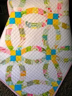 86 Best Double Wedding Ring Quilting Ideas Images Double Wedding