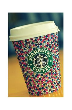 bedazzled cup