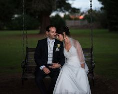 Soft portrair of bride and groom