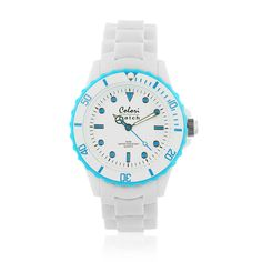 #ColoriWatch - White summer collection - Colori watches are beautifully designed and inspired by seasonal colours and fashion trends. Comfortable silicone straps combined with high precision Japanese quartz movement guarantee an uncomplicated pleasure.