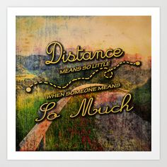 Distance Art Print by Ace of Spades - $17.99