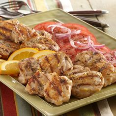 This citrusy marinade brightens up grilled chicken - and it's ready in less than 30 minutes.