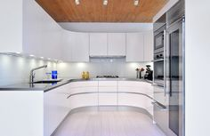 Stainless Countertops Kitchen Design Ideas, Pictures, Remodel and Decor