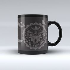 Mug Rock Emblems - Imaginaerum Regalos Bogotá