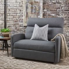 Shop for Halima Fabric 2-Seater Recliner Club Chair by Christopher Knight Home. Get free delivery at Overstock.com - Your Online Furniture Shop! Get 5% in rewards with Club O! - 23150703