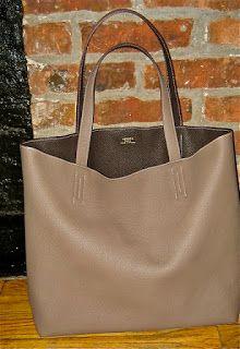 Hermes-Double Sens 45 Reversible bag in Etain Grey \u0026amp; Argile | Bags ...