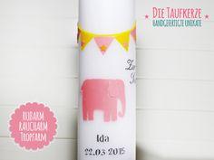 Taufkerzen - Taufkerze - ein Designerstück von Die-Taufkerze bei DaWanda