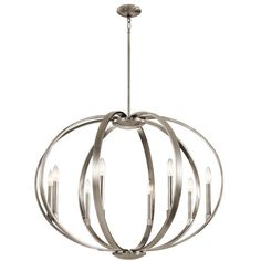 Found it at Wayfair - Zachary 8-Light Candle-Style Chandelier