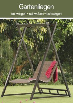 Stilvolle Gartenliege Heaven Swing | Verbringe Schöne Stunden Schwebender  Leichtigkeit Und Grenzenloser Entspannung. #entspannen