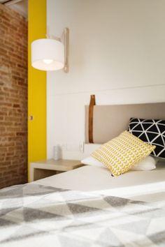 Energía positiva en la decoración de un apartamento muy estrecho   Ministry of Deco