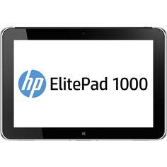 "HP ElitePad 1000 G2 128 GB Tablet - 10.1"" - Wireless LAN - Intel Atom, Grey #L4A47UT#ABA"