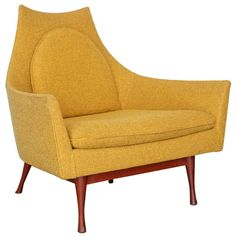 1stdibs.com | Low Back Lounge Chair by Paul McCobb for Widdicomb ca1950's.