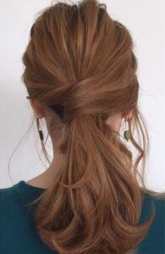 ただのゴム隠しじゃつまらない!進化形ゴム隠しアレンジ7 Medium Hair Styles, Long Hair Styles, Hair Arrange, Medium Long, Cool Hairstyles, Hair Care, Hair Beauty, Pretty, Hairdos