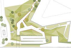 roof garden and entrance area by Henrik Jørgensen Landskab AS