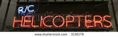 . Helicopters, Neon Signs