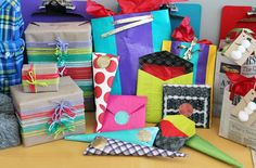 Awe inspiring gift wrapping ideas! http://www.brit.co/creative-gift-wrap/