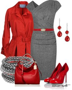 A fashion look from March 2013 featuring L.Bennett dresses, Prada jackets and Sergio Rossi pumps. Browse and shop related looks. Style Work, Mode Style, Work Fashion, Fashion Outfits, Womens Fashion, Fashion Trends, Dress Fashion, Classy Outfits, Cute Outfits