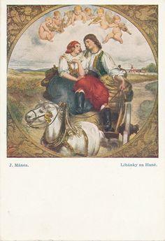 Líbánky u Hané,Josef Mánes