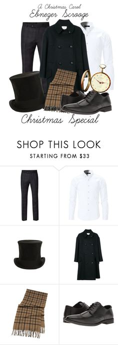 """A Christmas Carol"" by sparkle1277 ❤ liked on Polyvore featuring Ben Sherman, Jayson Home, Étoile Isabel Marant, Brooks Brothers, Steve Madden, men's fashion and menswear"