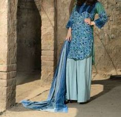 Trend of Short Shirts with Palazzo Pants in Pakistan