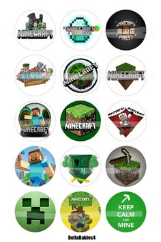 Hey, I found this really awesome Etsy listing at https://www.etsy.com/listing/172796298/a-minecraft-bottle-cap-images-4-x6-15