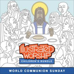 Illustrated Ministry creates illustrated faith resources for the church and the home, encouraging creativity and active engagement with faith. Confession Prayer, Closing Prayer, Spiritual Formation, Creative Activities For Kids, Illustrated Faith, Sunday School, Communion, Worship, Coloring Pages