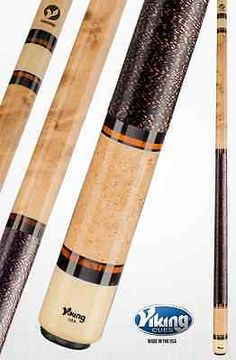Cues 21568: Viking Skny-2 Skinny Pool Cue W/ Vikore Shaft And Free Shipping BUY IT NOW ONLY: $315.0