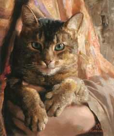 por Arsen Kurbanov I wish this artist could  have painted a portrait of my cat