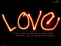 Quotes Love HD Wallpaper