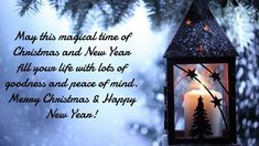 Merry Christmas And Happy New Year Images The Christmas and new year have arrived. You can get beautiful Merry Christmas and Happy new year 2020 images and wishes to send directly to your family and friends Happy New Year Message, Happy New Year Quotes, Happy New Year Images, Happy New Year Cards, Happy New Year Wishes, Happy New Year Greetings, Quotes About New Year, Happy New Year 2019, New Year Greeting Messages