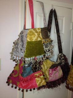New Patchwork Bags from Secondhand Charm