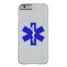 Star Of Life (logo only) Barely There iPhone 6 Case  firefighter gear, baby boy firefighter, firefighter ornaments #firefighter #futuredoctor #futurepoliceofficer Firefighter Costume Toddler, Firefighter Gear, Iphone 6, Iphone Cases, Tablet Cases, Emergency Medical Technician, Life Logo, Plastic Case, Stars
