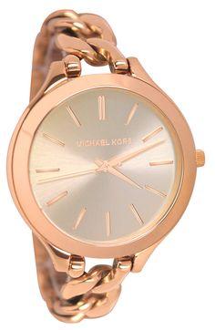 139855999b04 Michael Kors MK3223 Women s Watch Or Rose