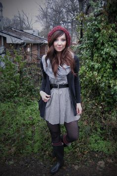 love the layering for fall